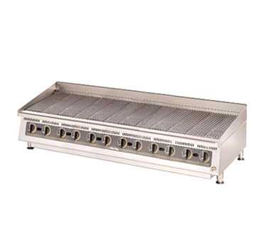 Star 8072CBA Ultra-Max 72 Lava Rock Charbroiler with Manual Controls
