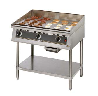 Star 860TSA Ultra-Max 60 Countertop Gas Griddle with Snap Action Thermostatic Controls