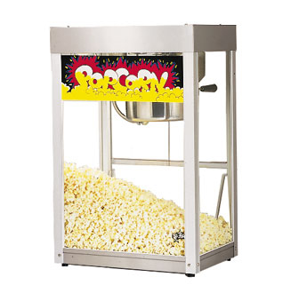 Star 86S Super JetStar Popcorn Popper with Infrared Heat Lamp