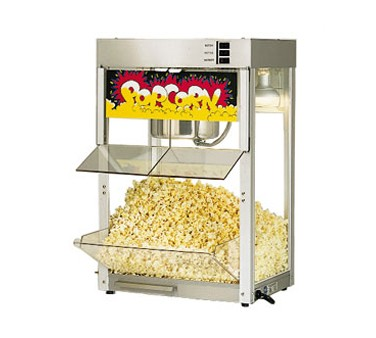 Star 86SS Super JetStar Self-Service Popcorn Popper with Infrared Heat Lamp
