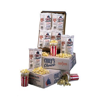 Star CC24-8OZ Chief's Choice Portion Pack Popcorn