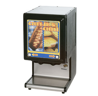Star HPDE2H Two Products High Performance Hot Food Dispenser