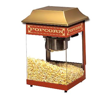 Star J4R Mini JetStar Popcorn Popper with Infrared Heat Lamp