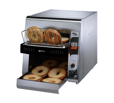 Star QCS2-1200B QCS 2 Slice Bagel Conveyor Toaster with Sheathed Heaters