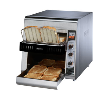 Star QCS2-500 QCS 2 Slice Conveyor Toaster with Sheathed Heaters