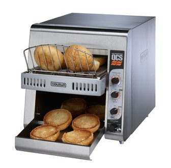 Star QCS2-600HA QCS 2 Slice Conveyor Toaster with Sheathed Heaters