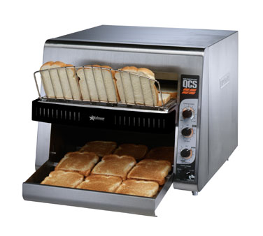 Star QCS3-1000A QCS 3 Slice Conveyor Toaster with Sheathed Heaters