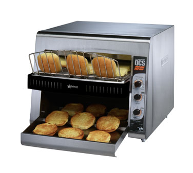 Star QCS3-1400BH QCS 3 Slice Conveyor Toaster with Sheathed Heaters