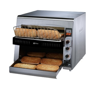 Star QCS3-950HA QCS 3 Slice Conveyor Toaster with Sheathed Heaters