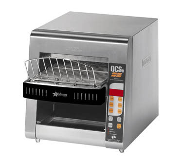 Star QCSE2-800 QCS 2 Slice Conveyor Toaster with Infrared Heaters