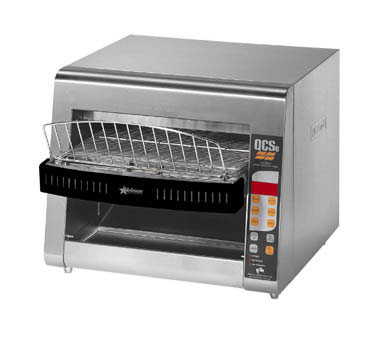 Star QCSE3-1000 QCS 3 Slice Conveyor Toaster with Infrared Heaters