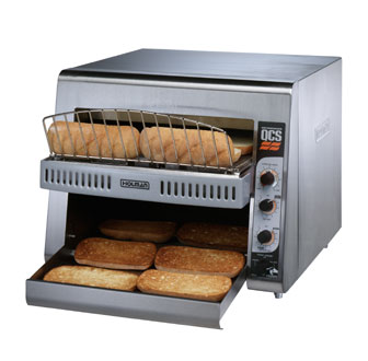 Star QCSE3-950H QCS 3 Slice Conveyor Toaster with Infrared Heaters