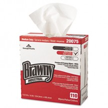 Brawny Industrial All-Purpose DRC Wipers, 1100/Carton