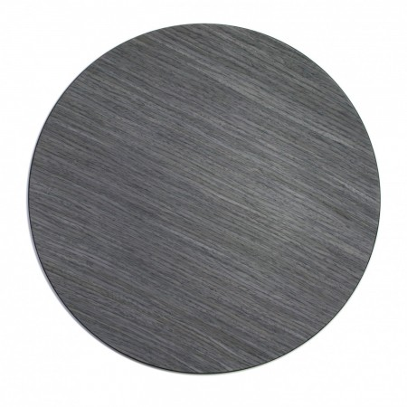 """The Jay Companies 1270004 Round Gray Pine Faux Wood Charger Plate 13"""""""