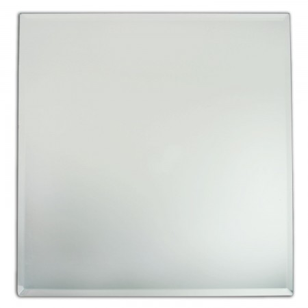 """The Jay Companies 1330022 Square Glass Charger Plate 13"""""""
