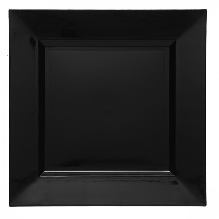 "The Jay Companies A81BK-13 Square Black Charger Plate 13"" x 13"""