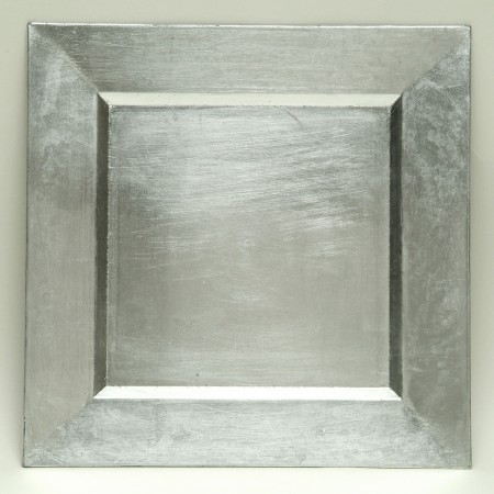 """The Jay Companies A81HR-13 Square Silver Charger Plate 13"""" x 13"""""""