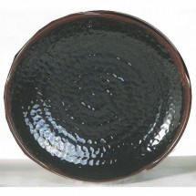 Thunder Group 1810TM Tenmoku Lotus Shaped Melamine Plate 10-1/2""