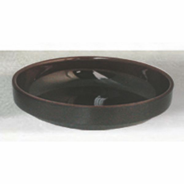 Thunder Group 1904TM Tenmoku Flat Bowl 4-1/2""