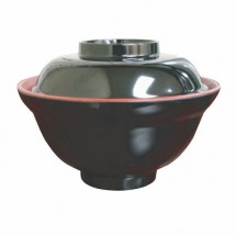 Thunder Group 3223JBR Melamine Miso Donburi Bowl 16 oz.