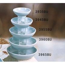 Thunder Group 3960 Blue Jade Melamine Bowl 12 oz.