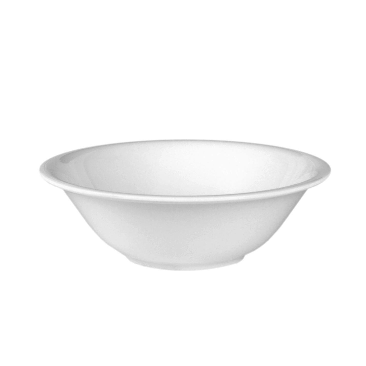 Thunder Group 5108TW Imperial White Melamine Deep Bowl 34 oz.