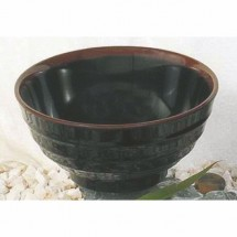 Thunder Group 5765TM Tenmoku Melamine Soup Bowl 32 oz.