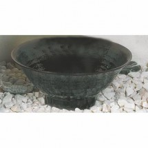 Thunder Group 5780TM Tenmoku Round Melamine Soup Bowl 32 oz.