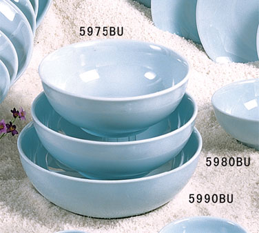 Thunder Group 5990 Blue Jade Melamine Soup Bowl 74 oz.