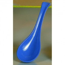 Thunder Group 7000B Blue Melamine Spoon 1 oz. - 5 doz