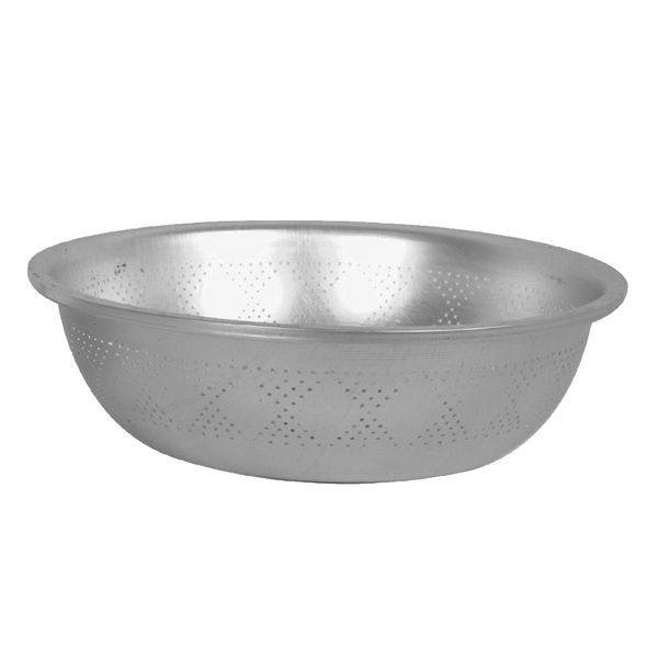 Thunder Group ALSB001 Aluminum Wide Rim Colander 22.2 Qt.
