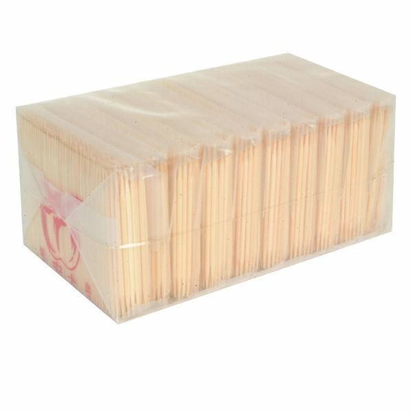 Thunder Group BATP001 Bamboo Toothpicks, Box of 1050