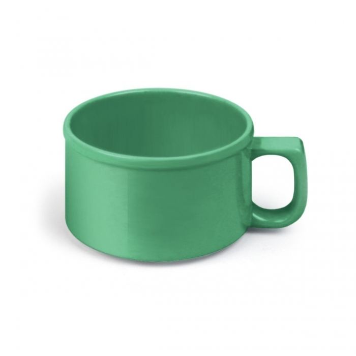 Thunder Group  CR9016GR 8 oz Soup Mug, Melamine Green - 1 doz