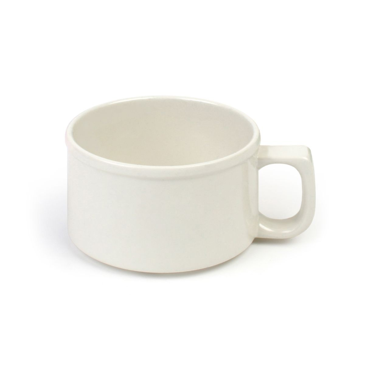 Thunder Group CR9016V 8 oz Soup Mug,  Melamine Ivory - 1 Doz
