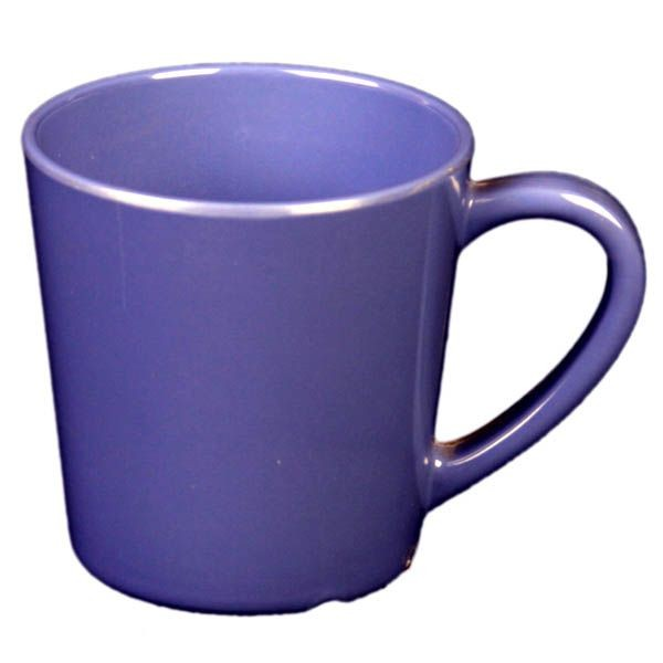 Thunder Group CR9018BU Purple Melamine Mug / Cup 7 oz. - 1 doz