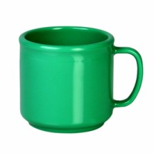Thunder Group CR9035GR Green Melamine Mug 10 oz. - 1 doz