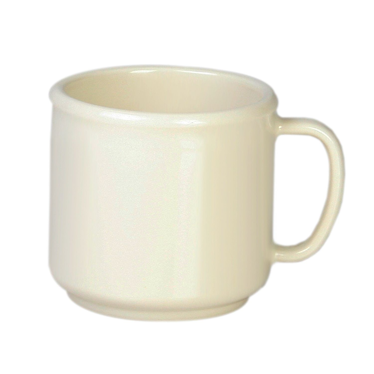 Thunder Group CR9035V Ivory Melamine Mug 10 oz. - 1 doz