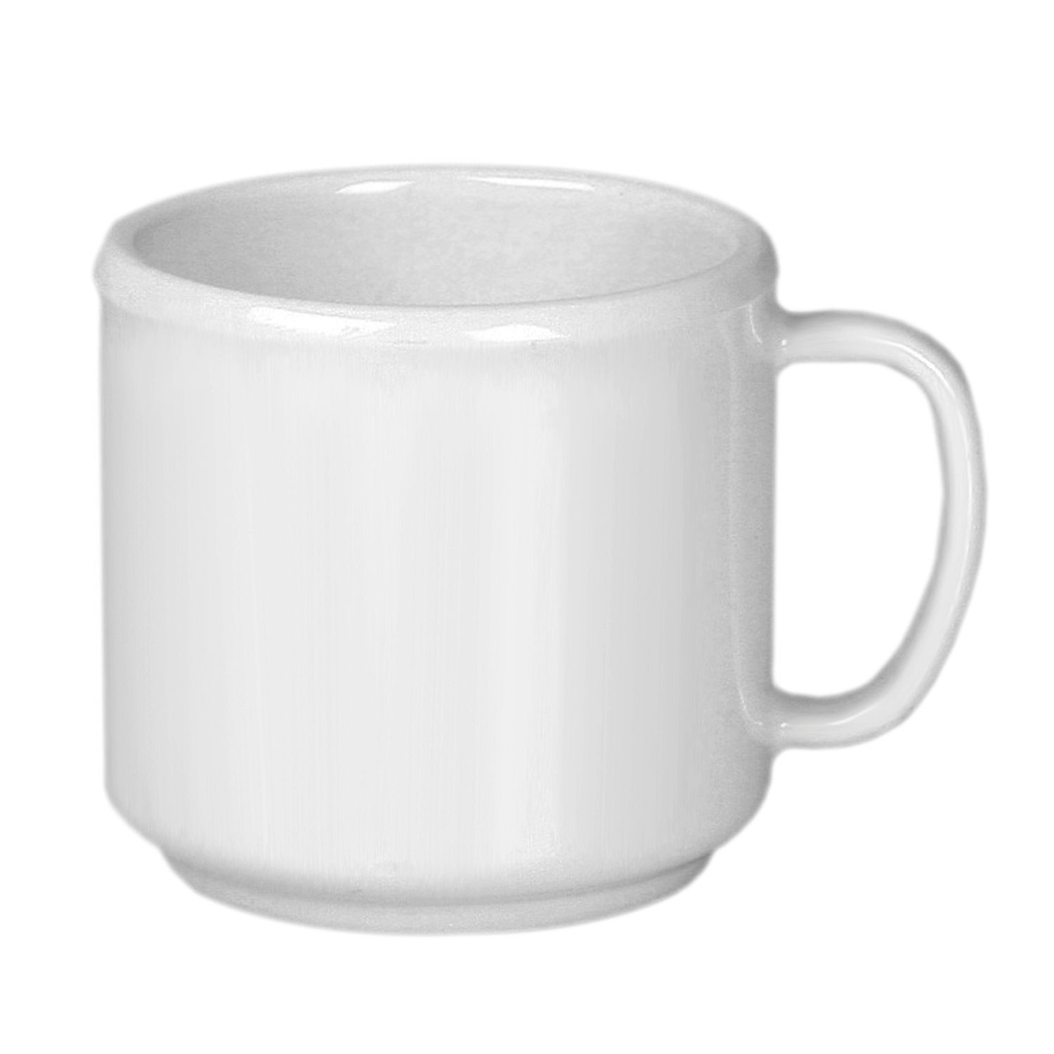 Thunder Group CR9035W White Melamine Mug 10 oz. - 1 doz
