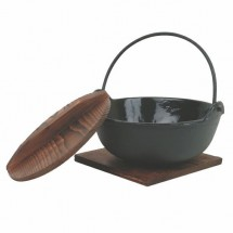 Thunder Group IRPA002 Cast Iron Japanese Noodle Bowl 32 oz