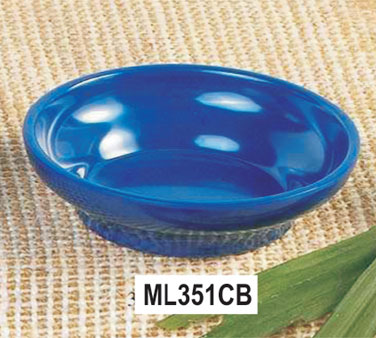 Thunder Group ML351CB Salsa Dish, Cobalt Blue 4.5 oz. - 1 doz