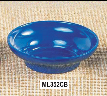 Thunder Group ML352CB Cobalt Blue Salsa Dish 8 oz. - 1 doz