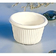 Thunder Group  ML507B 1 1/2 oz Fluted Ramekin Melamine - 4 doz