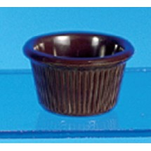 Thunder Group  ML507C 1 1/2 oz Fluted Ramekin Melamine - 4 doz