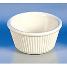 Thunder Group  ML531B 3 oz Fluted Ramekin Melamine - 4 doz