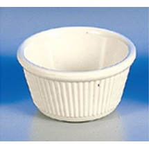 Thunder Group  ML532B 4 oz Fluted Ramekin Melamine - 1 doz