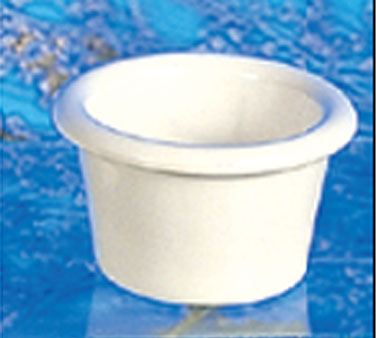 Thunder Group ML534B Smooth Ramekin, Bone 1.5 oz. - 6 doz