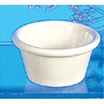 Thunder Group ML536B Smooth Ramekin, Bone 2.5 oz. - 4 doz
