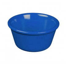 Thunder Group ML536CB Smooth Ramekin, Cobalt 2.5 oz. - 4 doz