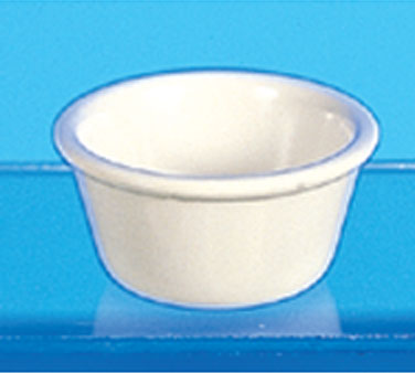 Thunder Group ML537B Smooth Ramekin, Bone 3 oz. - 4 doz