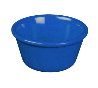 Thunder Group ML537CB Smooth Ramekin, Cobalt Blue 3 oz. - 4 doz